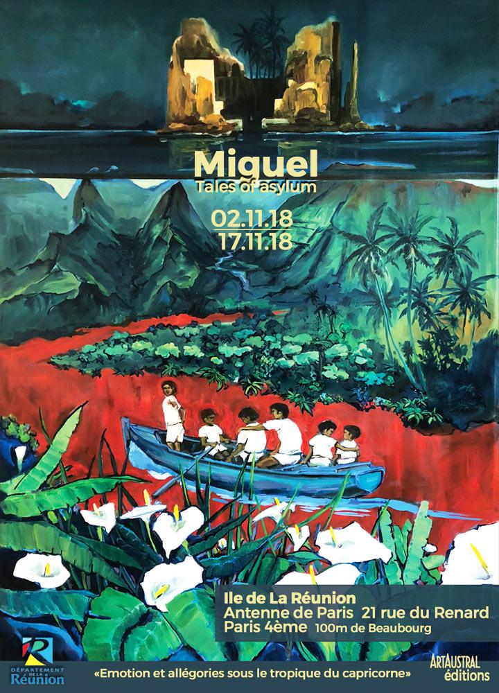 expo paris peintre Miguel